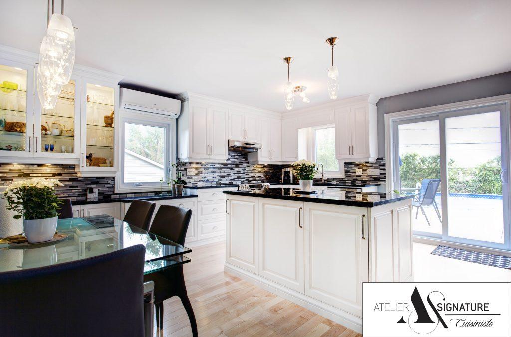 Armoire de cuisine Rive-Nord - Atelier Signature