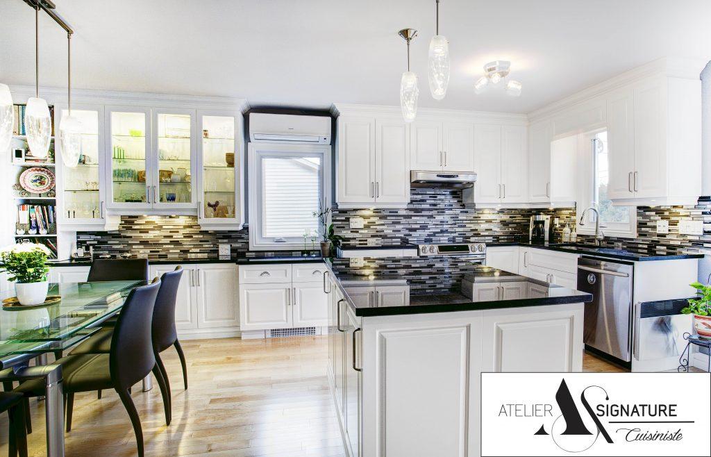 Armoire de cuisine Rive-Nord - Atelier Signature-9