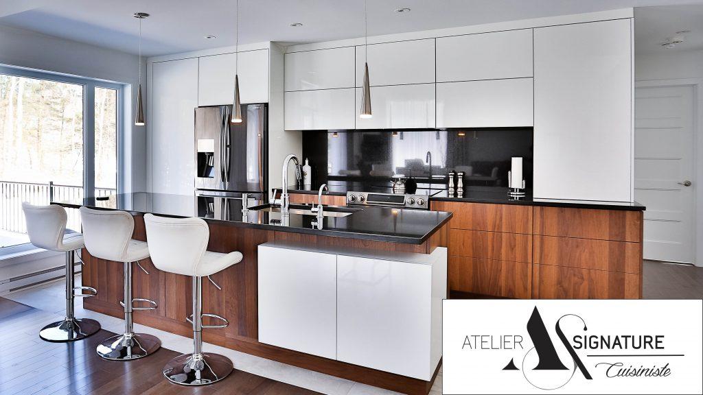 Armoire de cuisine moderne - Cusiniste Atelier Signature (1)