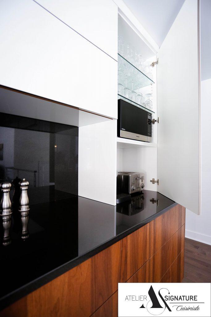 Armoire de cuisine moderne - Cusiniste Atelier Signature (11)