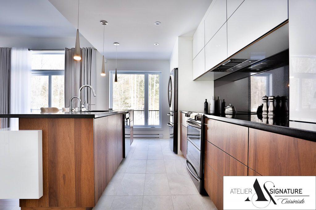 Armoire de cuisine moderne - Cusiniste Atelier Signature (5)