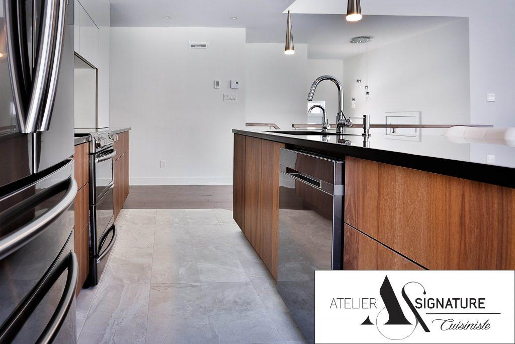 Armoire de cuisine moderne - Cusiniste Atelier Signature (6)