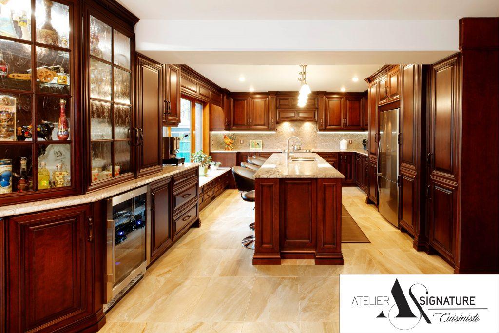 Armoires de cuisine classique - Atelier Signature - Cuisiniste