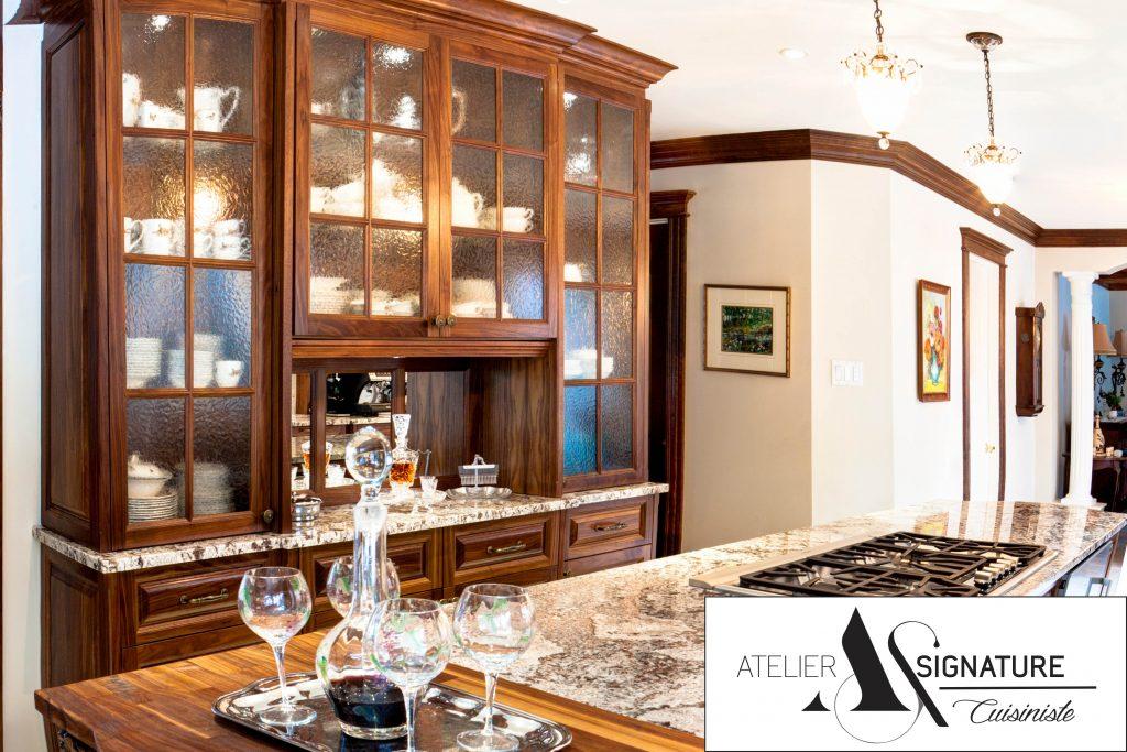 Comptoir en granite - Cuisine Style Classique - Atelier Signature - Cuisiniste