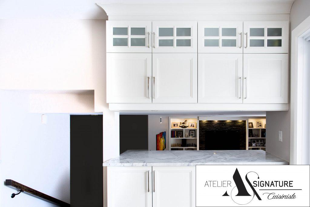Meuble de cuisine - Atelier Signature - Cuisiniste laval