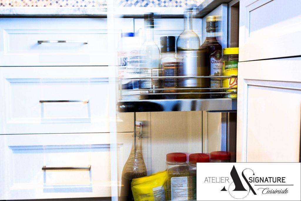 Rangement armoire de cuisine - Atelier Signature