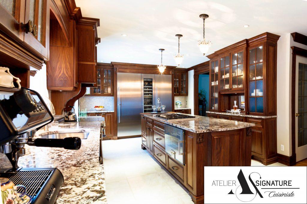 Reno-Assistance - Armoire de cuisine classique - Atelier Signature - Cuisiniste
