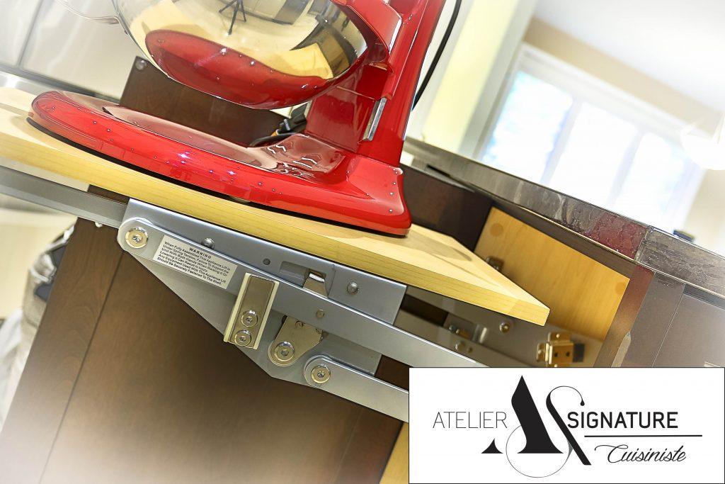 Système de rangement de cuisine - Quincaillerie armoire de cuisine - Cuisine Laval